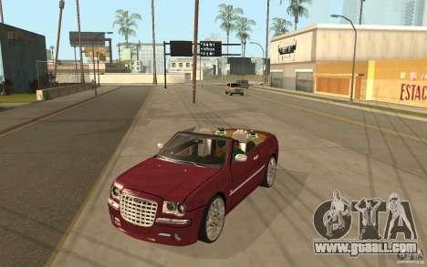 Chrysler 300c Roadster Part2 for GTA San Andreas