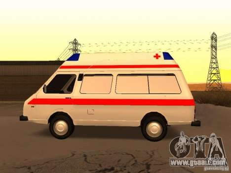 RAPH 2914 Tampo for GTA San Andreas left view