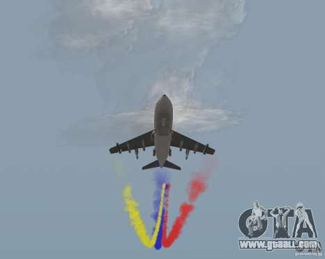 Multi colored strips for aircraft for GTA San Andreas forth screenshot