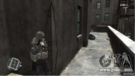 MW2 Ghost Diving Suit for GTA 4 forth screenshot