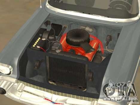 Chevrolet Bel Air 1957 for GTA San Andreas back view