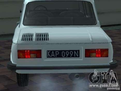 ZAZ 968 m Limousine for GTA San Andreas side view