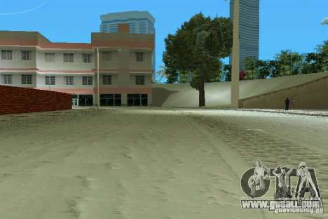 Snow Mod v2.0 for GTA Vice City second screenshot