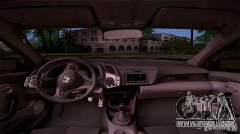 Honda CR-Z 2010 V3.0 for GTA San Andreas side view
