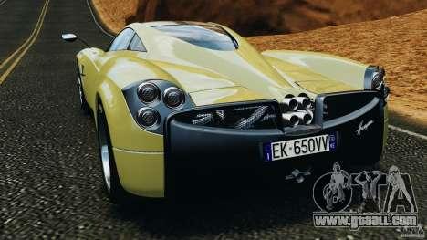 Pagani Huayra 2011 v1.0 [EPM] for GTA 4 back left view