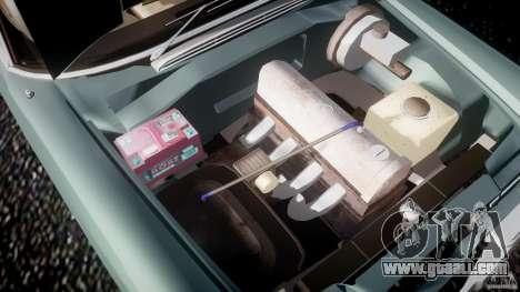 Mercedes-Benz W111 v1.0 for GTA 4 bottom view