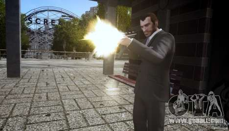 H&K MP5k for GTA 4 third screenshot