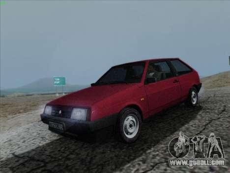 VAZ 21083i for GTA San Andreas right view
