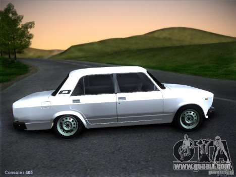 Vaz 2105 stock Quality for GTA San Andreas left view