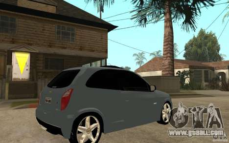 Chevrolet Celta VHC 2011 for GTA San Andreas right view