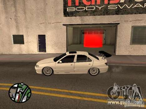 Peugeot 406 Tuning for GTA San Andreas left view