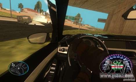 Chechen Speedometr for GTA San Andreas third screenshot