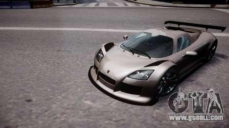 Gumpert Apollo Sport 2011 for GTA 4
