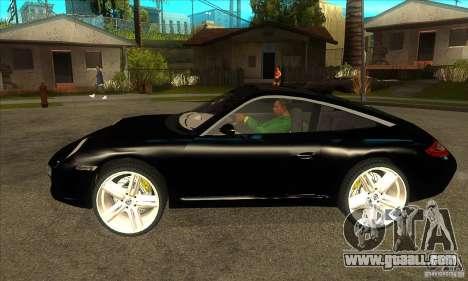 Porsche 911 Targa 4 for GTA San Andreas left view