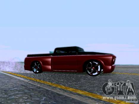 Slamvan Tuned for GTA San Andreas left view