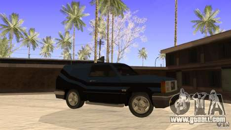 Sandking EX V8 Turbo for GTA San Andreas left view