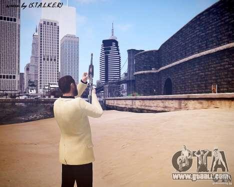 Carabine M4A1 for GTA 4 fifth screenshot