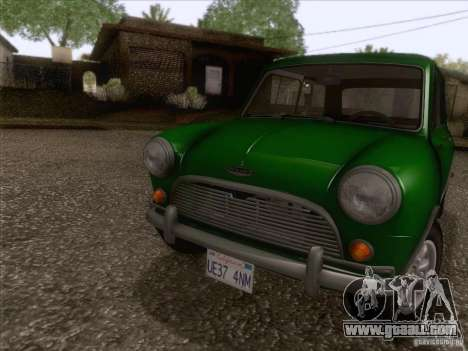 Austin Cooper S 1965 for GTA San Andreas left view