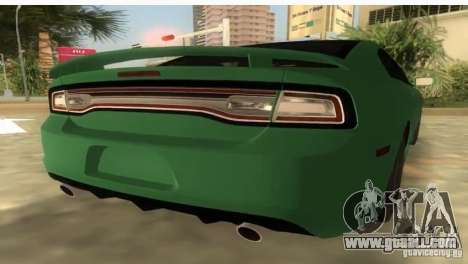 Dodge Charger for GTA Vice City left view