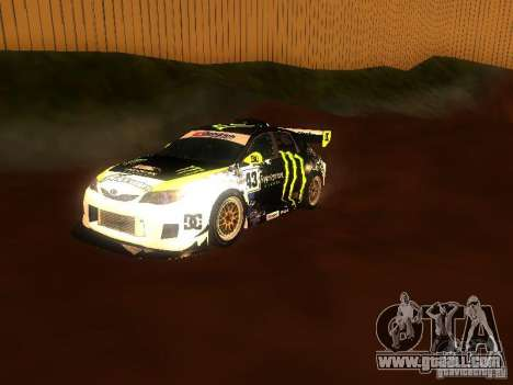 Moto Track Race for GTA San Andreas third screenshot