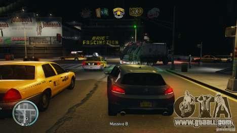 Coloured Radio HUD for GTA 4 forth screenshot