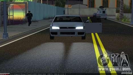 New Xenon headlights for GTA San Andreas