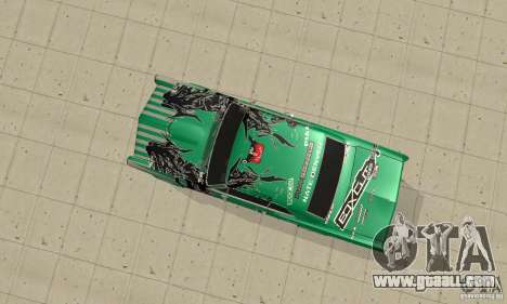 Pontiac GTO 1965 Speed King-NFS Pro Street for GTA San Andreas inner view