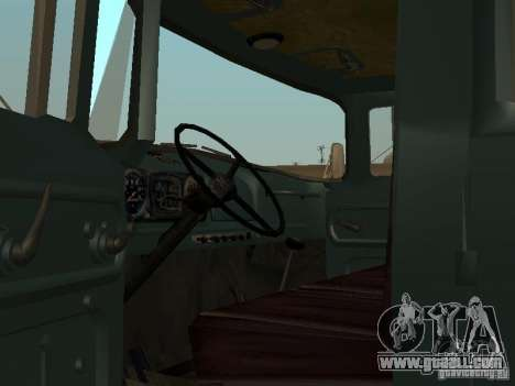 ZIL 130 double cabin for GTA San Andreas right view