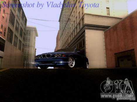 BMW E39 M5 2004 for GTA San Andreas left view