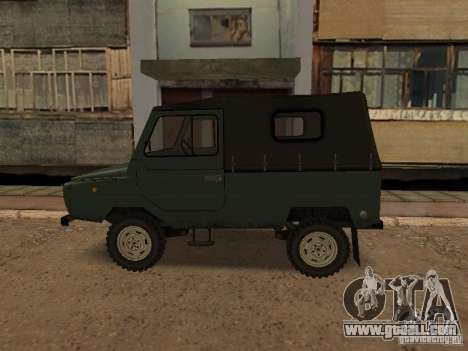Luaz 969 m for GTA San Andreas left view