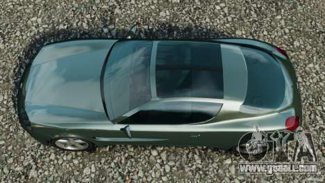 Daewoo Bucrane Concept 1995 for GTA 4 right view
