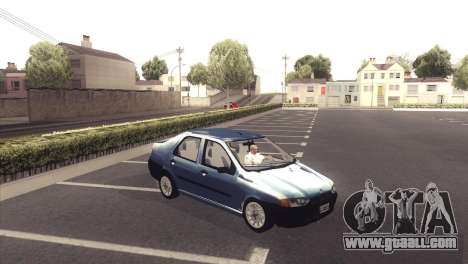 Fiat Siena 1998 for GTA San Andreas back view