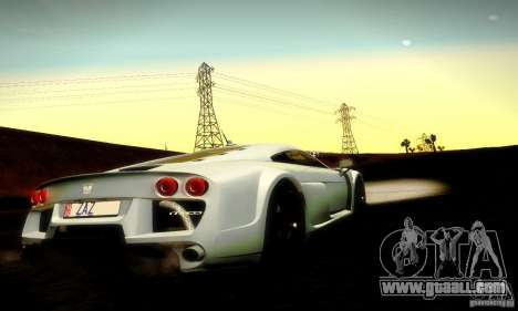Noble M600 Final for GTA San Andreas upper view