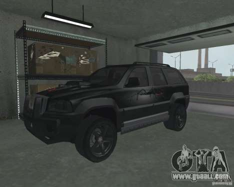 SUV from NFS for GTA San Andreas left view