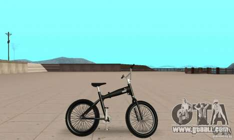 Puma MT Bike for GTA San Andreas back left view