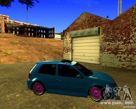 Volkswagen Golf R32 Euro look for GTA San Andreas right view