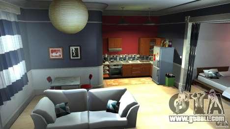 Retextured Lopez Apartment for GTA 4 second screenshot