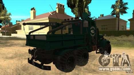 KrAZ 255 B1 Krazy-Crocodile for GTA San Andreas right view