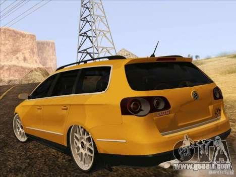 Volkswagen Passat B6 Variant for GTA San Andreas side view
