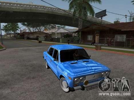 VAZ 2106 Retro V2 for GTA San Andreas inner view