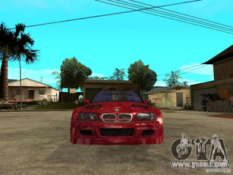 BMW M3 GTR Le Mans for GTA San Andreas right view