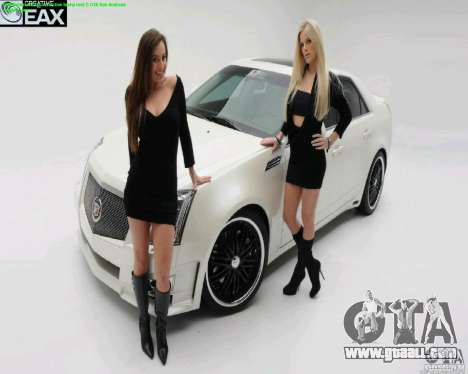 Loading screens and car Girls for GTA San Andreas