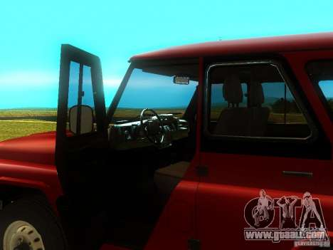 UAZ 315148 for GTA San Andreas back view