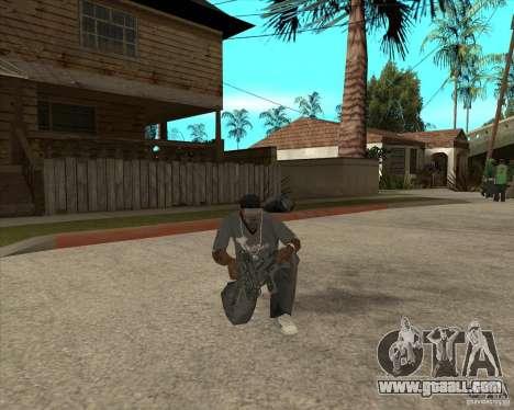 Pak weapons of Fallout New Vegas for GTA San Andreas seventh screenshot