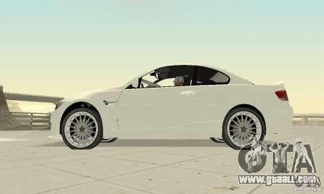 BMW M3 2008 Convertible Hamann for GTA San Andreas