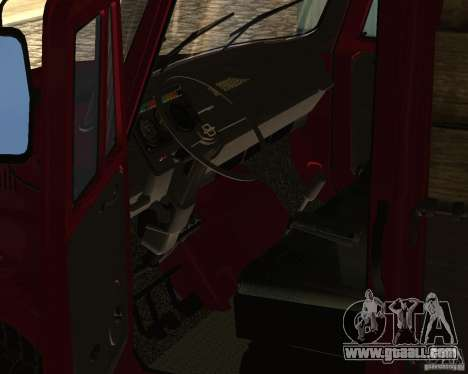 433362 ZIL for GTA San Andreas inner view