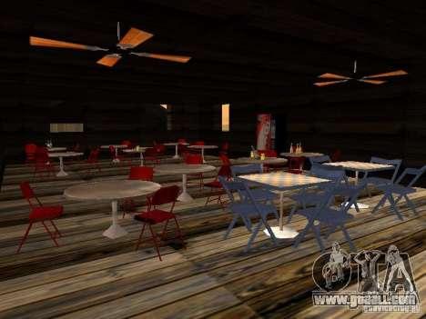 New Beach bar Verona for GTA San Andreas fifth screenshot