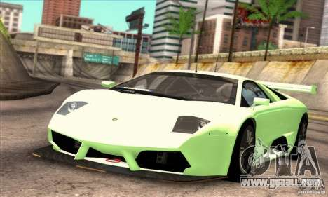 Lamborghini Murcielago R-SV GT1 for GTA San Andreas side view