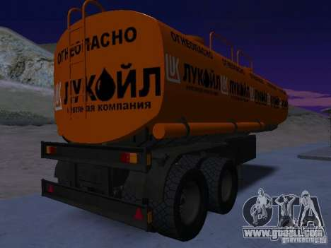 Tank Lukoil for GTA San Andreas