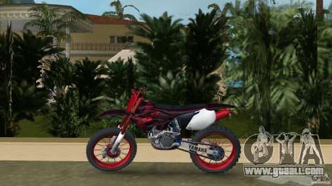 Yamaha v.2 for GTA Vice City left view